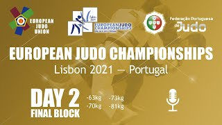Day 2: Finals - European Judo Championships 2021