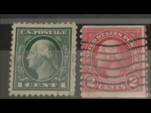 Old US Postage Stamps