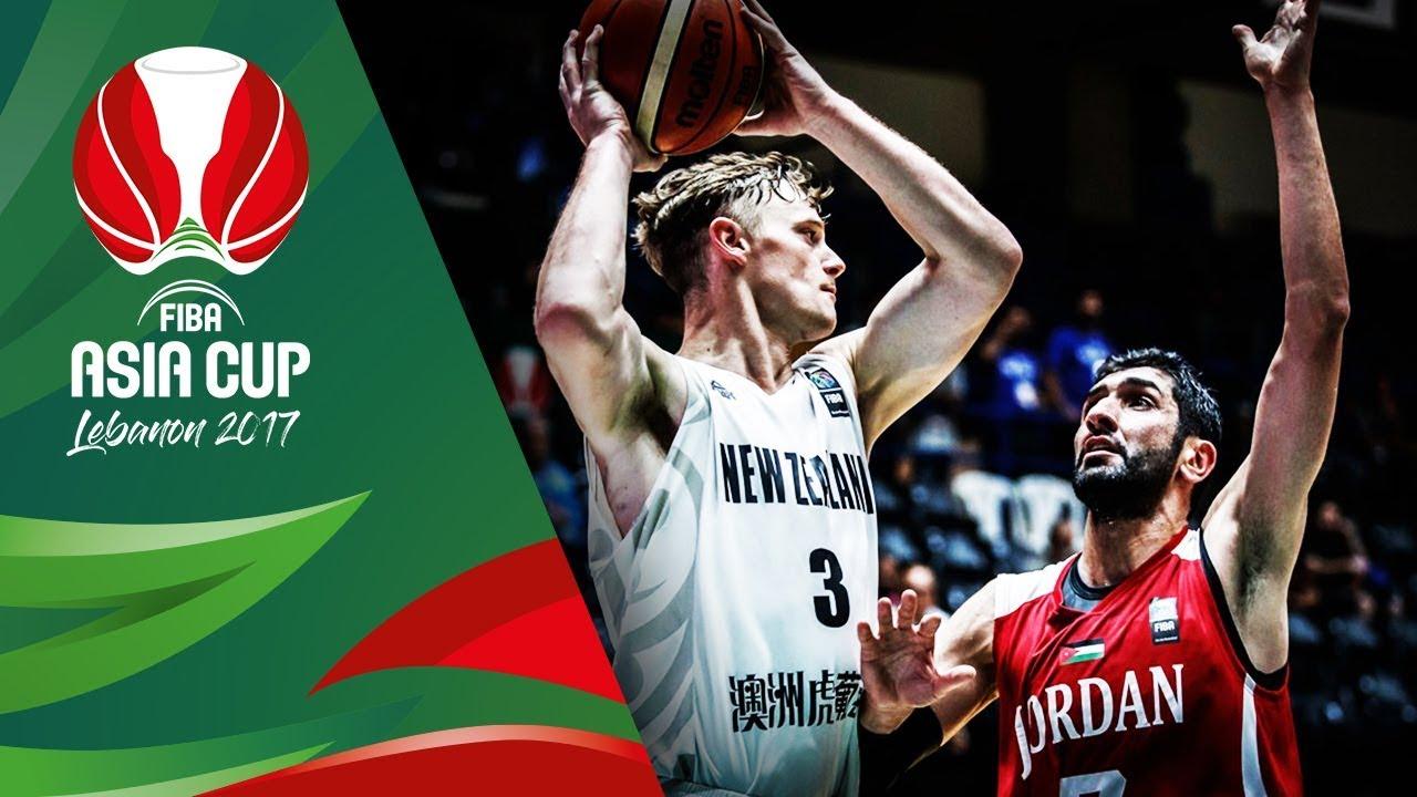 New Zealand v Jordan - Full Game - FIBA Asia Cup 2017