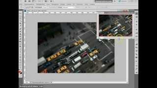 Как создать эффект Tilt-Shift в Adobe Photoshop (видеоурок)