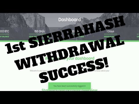 INVESTING IN SIERRA HASH! + Bitconnect Investment