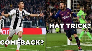 Can Ronaldo save Juventus? Will Messi provide another magical performance? | UCL Preview