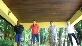 Ensaiando a coreografia de Xaxado (HêÊ..!) - Atividades Rítmicas UNINOVE 2011