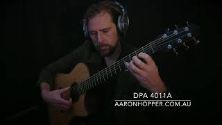 DPA 4011A vs Gefell M295 Microphones on Fingerstyle Guitar (Loef OM/D) stringmansassy