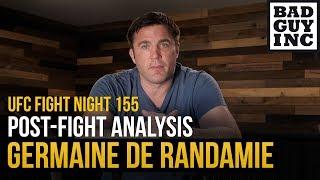 Will Germaine de Randamie be willing to fight Amanda Nunes?
