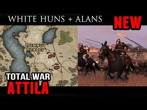 Total War: Attila - Free LC (New White Huns and Alans Roster Update)