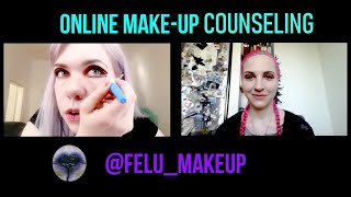 Online make-up coaching! Step up your make-up game :D