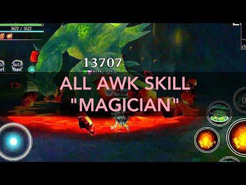 AVABEL ONLINE : ALL AWAKEN SKILL MAGICIAN 2019!!! *UPDATE`