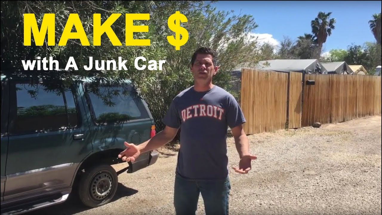 How to Make Money Buying a Junk Car - YouTube