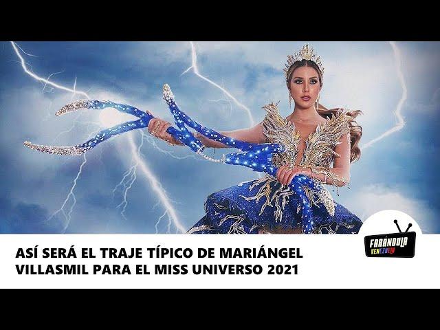 Así será el traje típico de Mariángel Villasmil para el Miss Universo 2021