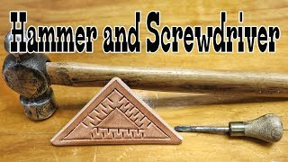 Download Leather Stamping with Hammer and Screwdriver Mp3 and Videos