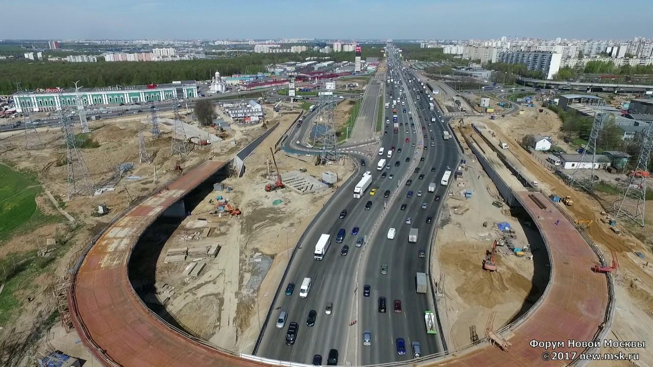 Калужское шоссе реконструкция схема фото 458