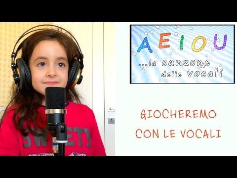 AEIOU - La canzone delle vocali - Sofia Del Baldo - canzoni per bambini - AEIOU