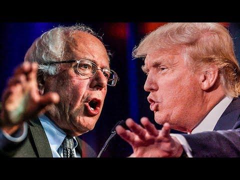 Bernie Sanders Held Town Hall Meetings With Americans While Trump Played Golf