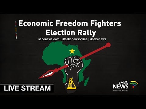 Economic Freedom Fighters election rally, 05 May 2019