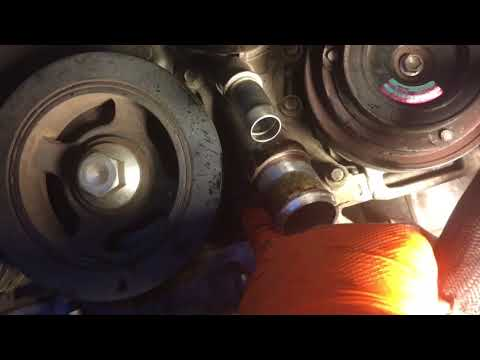 2012 Chrysler Town And Country Water Pump Youtube