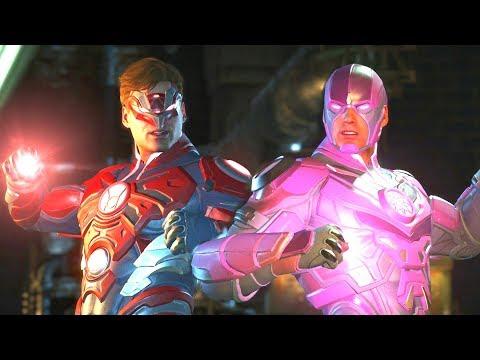Injustice 2 - Green Lantern All Lantern Corps Symbols and Colors - Intro, Super Move, Victory Pose