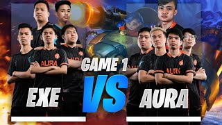 EXECRATION vs AURA PH UPPER BRACKET FINALS GAME 1