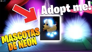 HOW TO HAVE NEON PETS, TOYS AND MORE IN ADOPT ME ROBLOX!