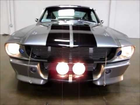 1967 shelby mustang gt500 eleanor replica for sale youtube. Black Bedroom Furniture Sets. Home Design Ideas