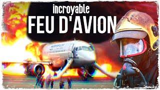 FEU D'AVION : L'action Des Pompiers D'aéroports
