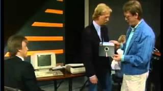 """DR programmat """"Under Uret"""" viser hvordan en computer bruges til musik i 1987"""