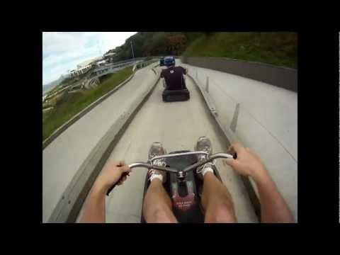 Car Cart Downhill New Zealand Youtube