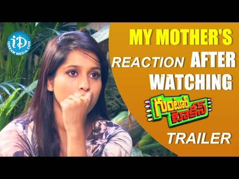 My Mother's Reaction After Watching Guntur...