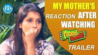 Repeat youtube video My Mother's Reaction After Watching Guntur Talkies Trailer - Anchor Rashmi  || Guntur Talkies