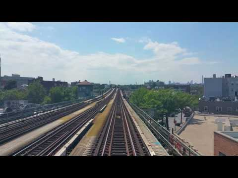 26 June 2015 - 7 Train from Citi Field stop into Manhattan