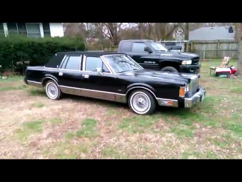 My 1989 Lincoln Town Car Signature Series Youtube