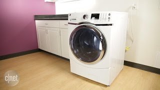 Give your laundry room a fresh upgrade with this GE washer