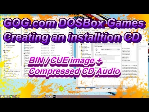 Create Installation CD from GOG.com DOSBox Games with BIN / CUE image and MP3 or OGG