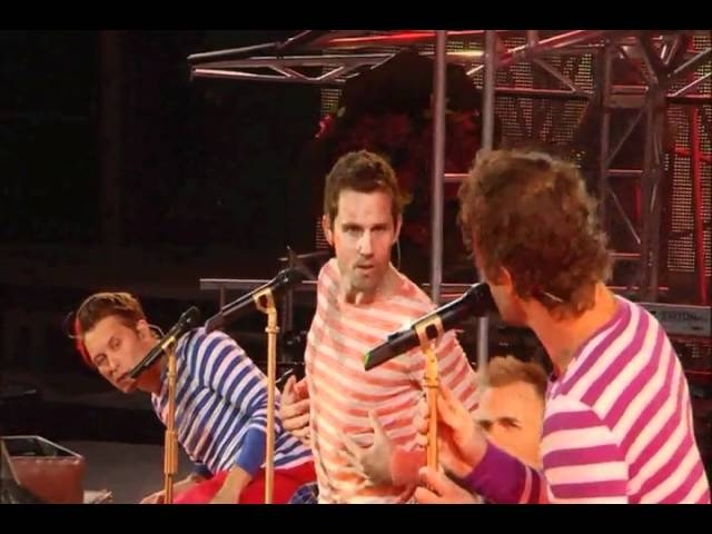 Take That Present The Circus Live What Is Love Youtube