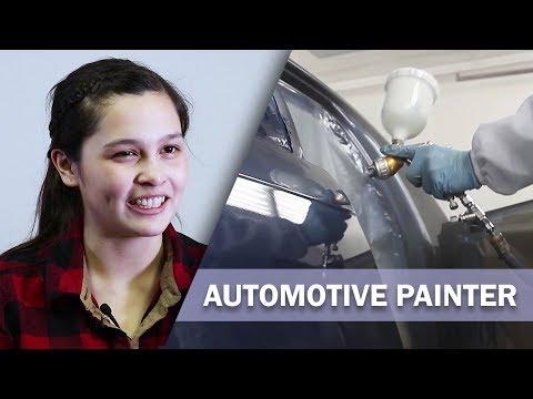 Job Talks - Automotive Painter