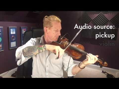 Fishman V-200 Violin Pickup Demo