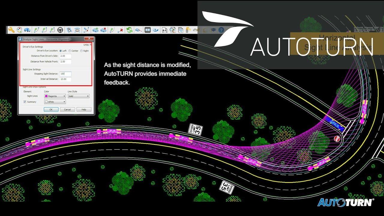 AutoTURN 9 0 - Sight Line Analysis