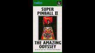 【BGM】 スーパーピンボールⅡ ザ・アメイジング・オデッセイ 【SFC】 Super Pinball II: The Amazing Odyssey (SNES Soundtrack OST)