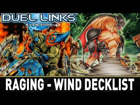 RAGING WINDS Decklist   YuGiOh Duel Links Mobile w/ ShadyPenguinn