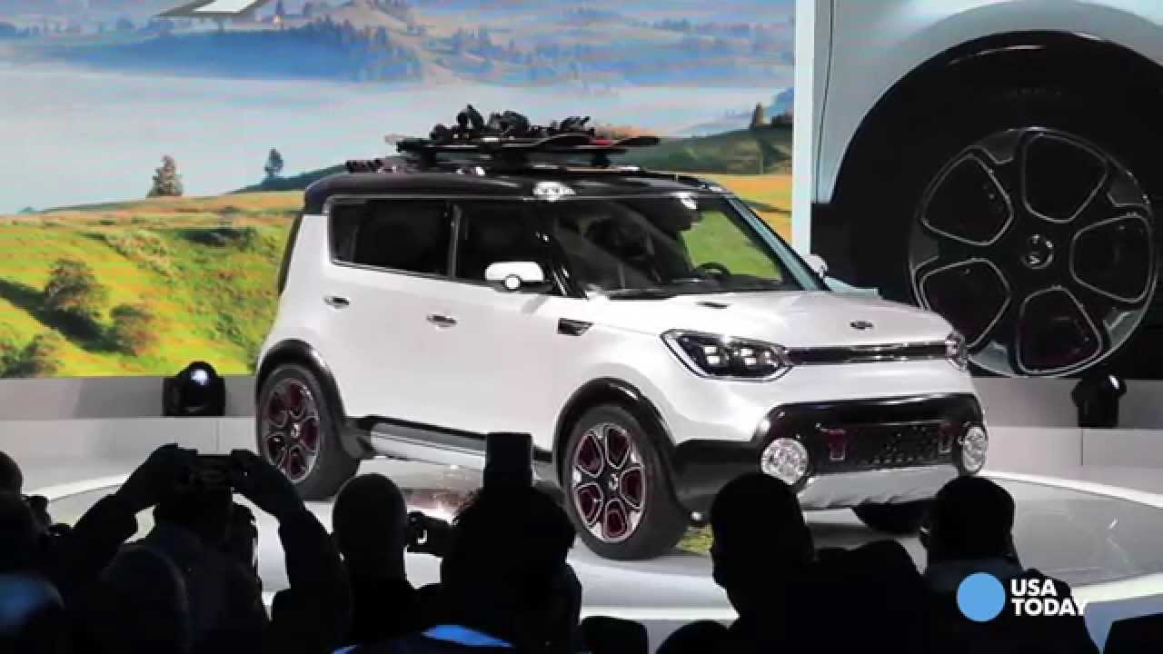 Kia Soul Goes For A Hike With Trail Ster Concept