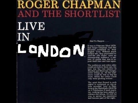 Roger Chapman , live, BBC radio 1 in concert. Broadcast Sat 5 January 6pm 1980.