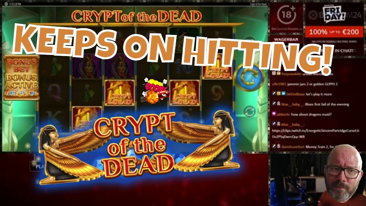 Crypt Of DEAD! Multiple Big Hits in BONUS!
