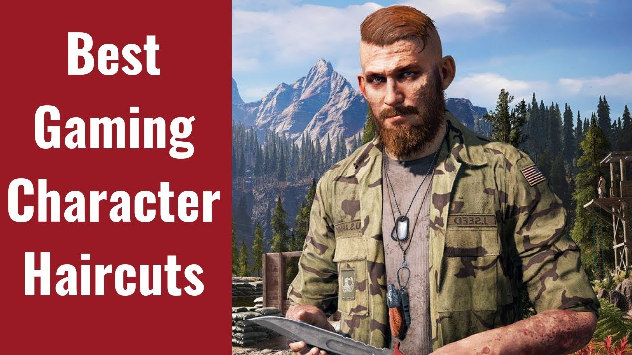 The Best Haircuts In Gaming Thesalonguy