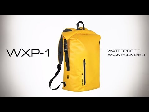 4d0becb43d2c WXP-1 STORMTECH WATERPROOF BACK PACK (35 L) - YouTube