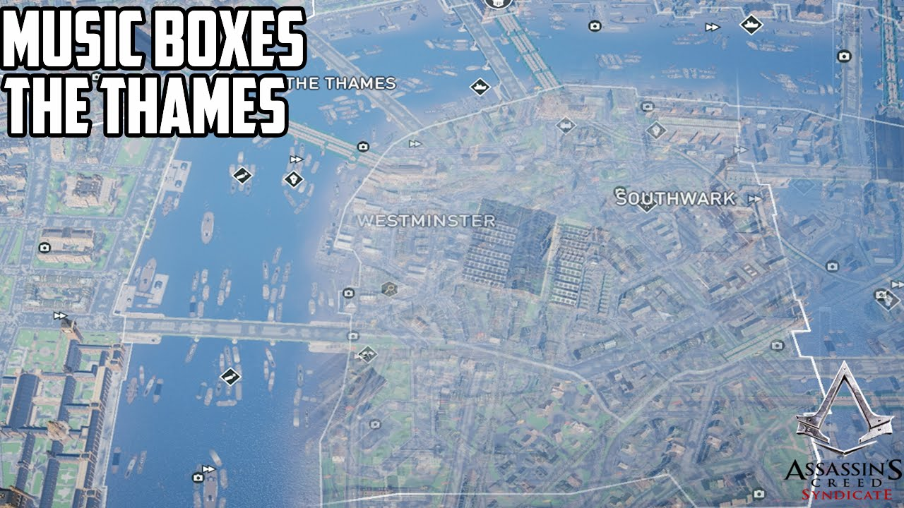 Assassin S Creed Syndicate Music Box Locations The Thames Youtube