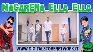 MACARENA ELLA ELLA | Joey&Rina | Balli di gruppo 2016 Line Dance