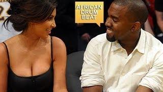 Kanye West - Talib Kweli - African Drum Beat Instrumental *Rare*