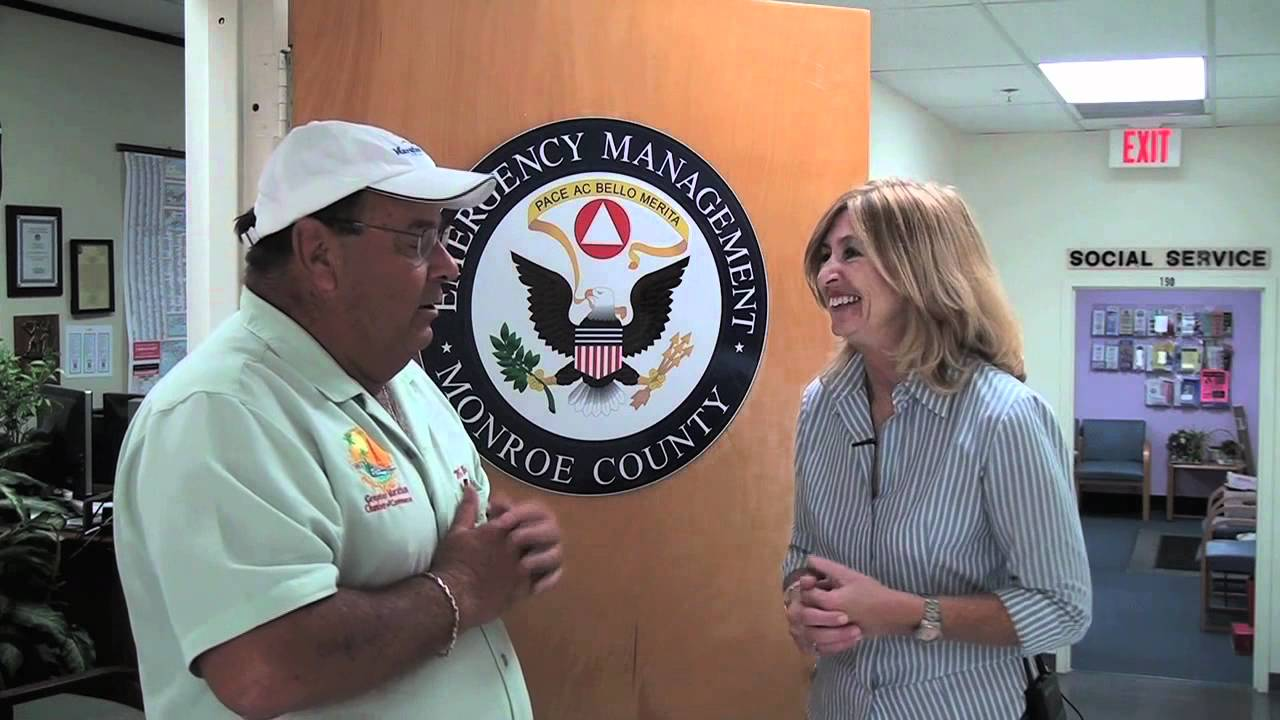 irene toner  dir of the monroe county emergency management