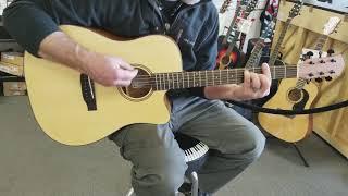 Donner Guitar demo