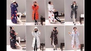 💙LOOKBOOK /Winter Coat Design Padded Down Cotton Plus Size Slim Jacket Hooded Zipper Women Fashion